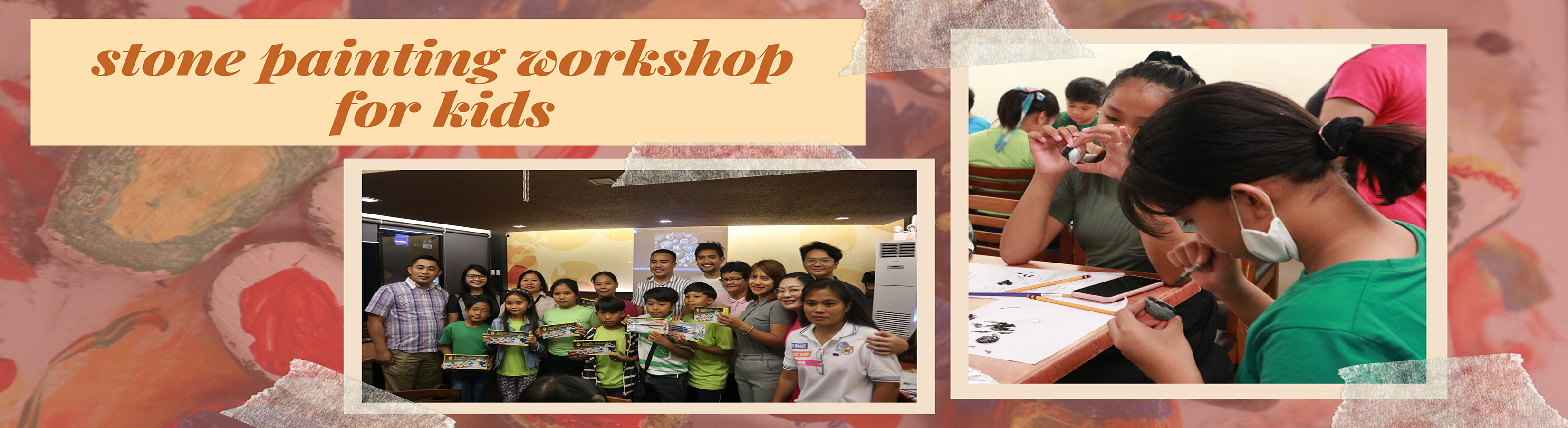 Stone Painting Workshop for Kids